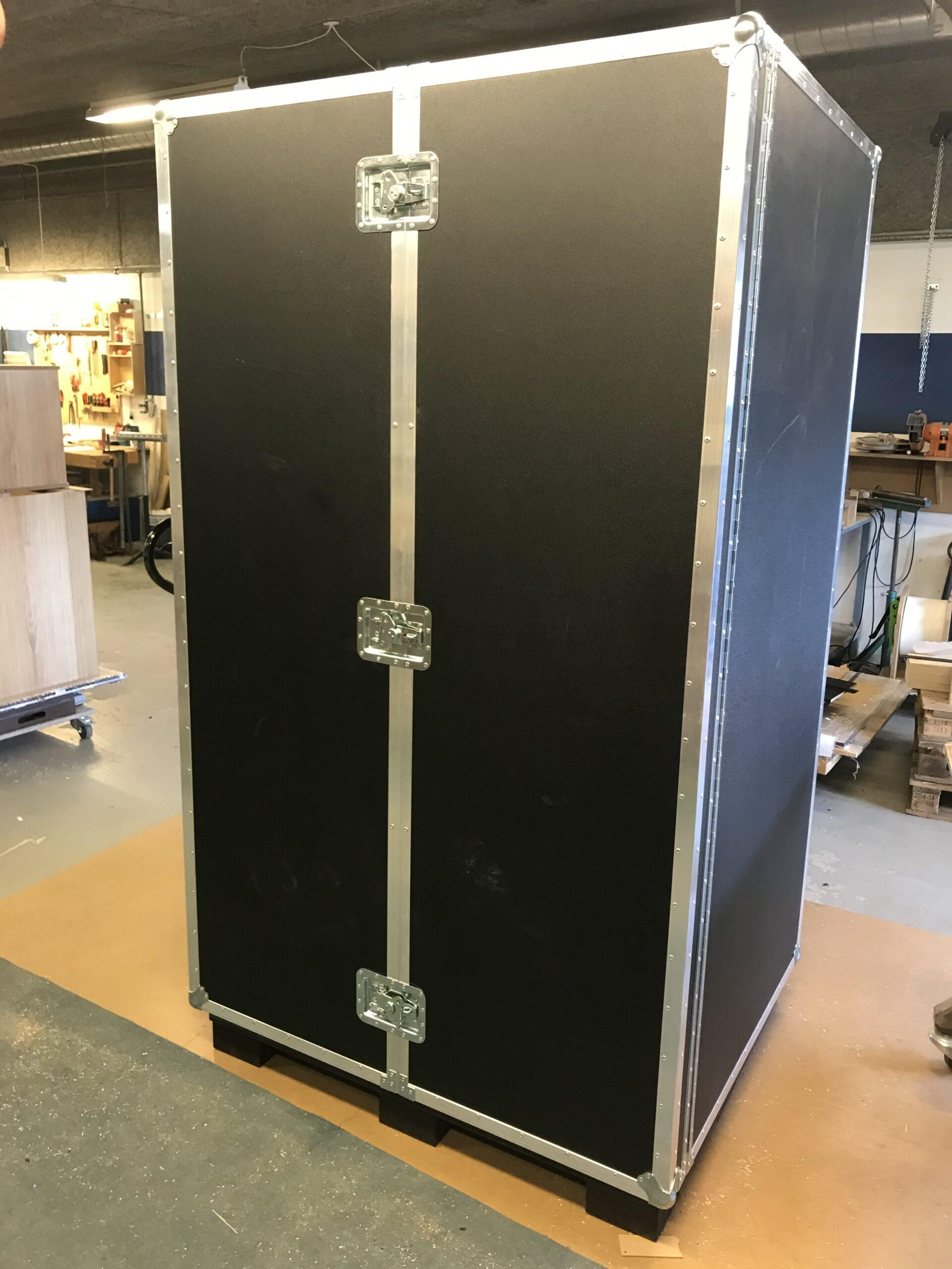 Flightcase skab