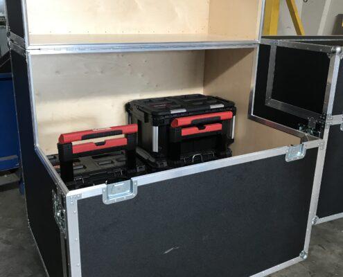 flightcase med rampe